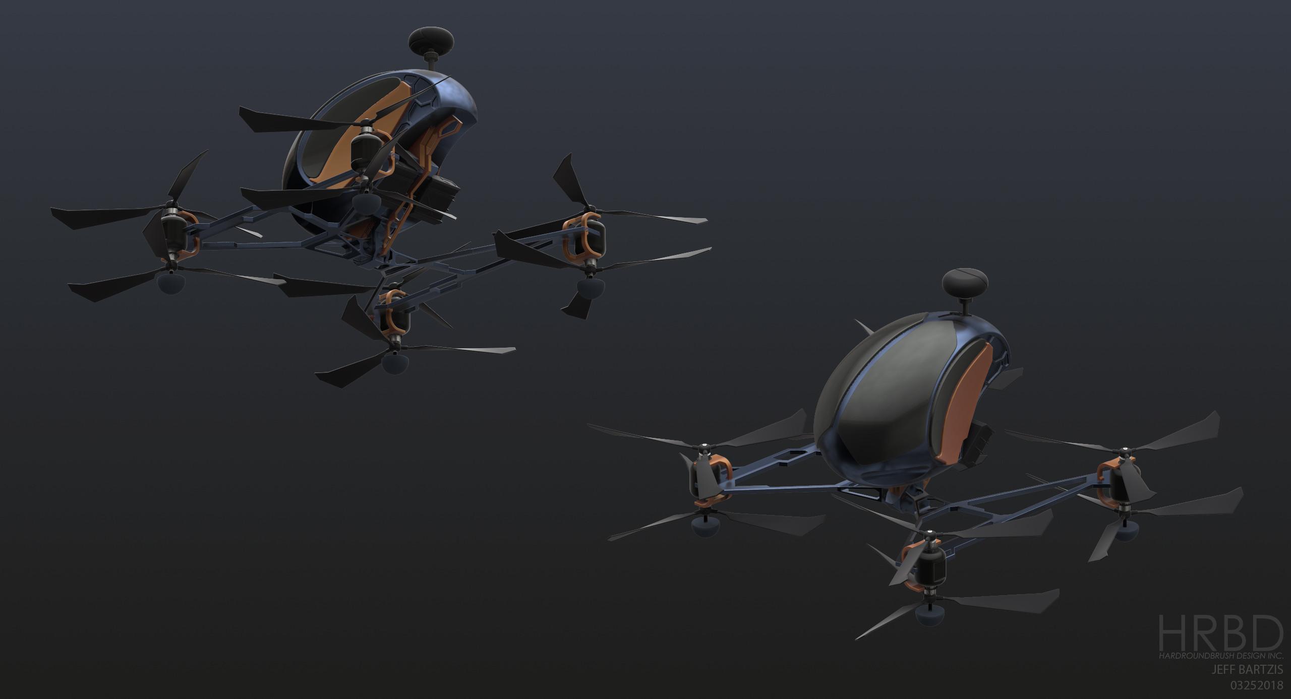 Flying cars! 3Dcoat sculpt.