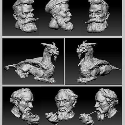 Mike mccarthy zbrush sketches
