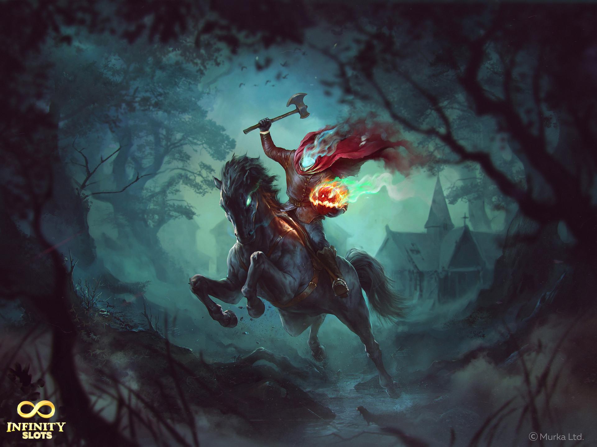 Artstation headless horseman denys tsiperko - Pictures of the headless horseman ...