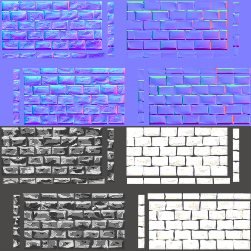 Normal, Specular and Ambient Occlusion Maps