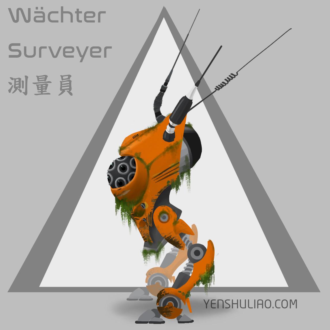 Yen shu liao mech robot concept art yenshuliao 03
