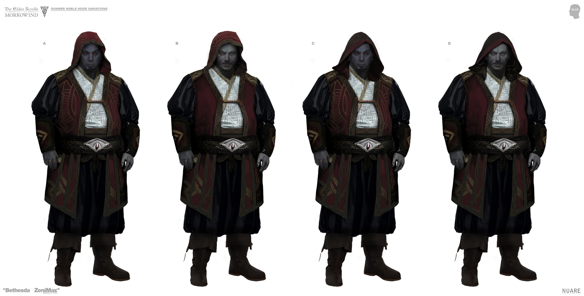 Different hood variations