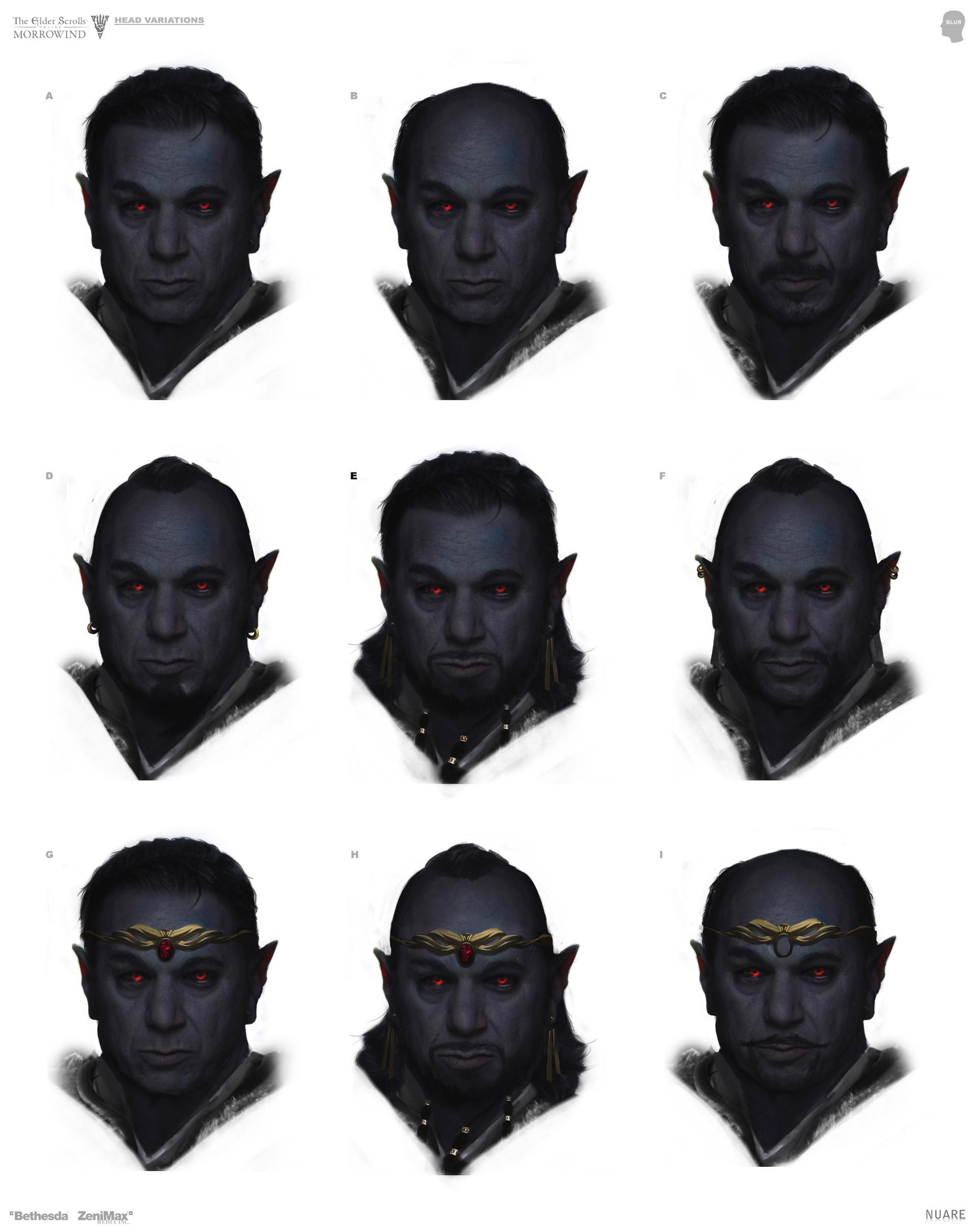 Face variations
