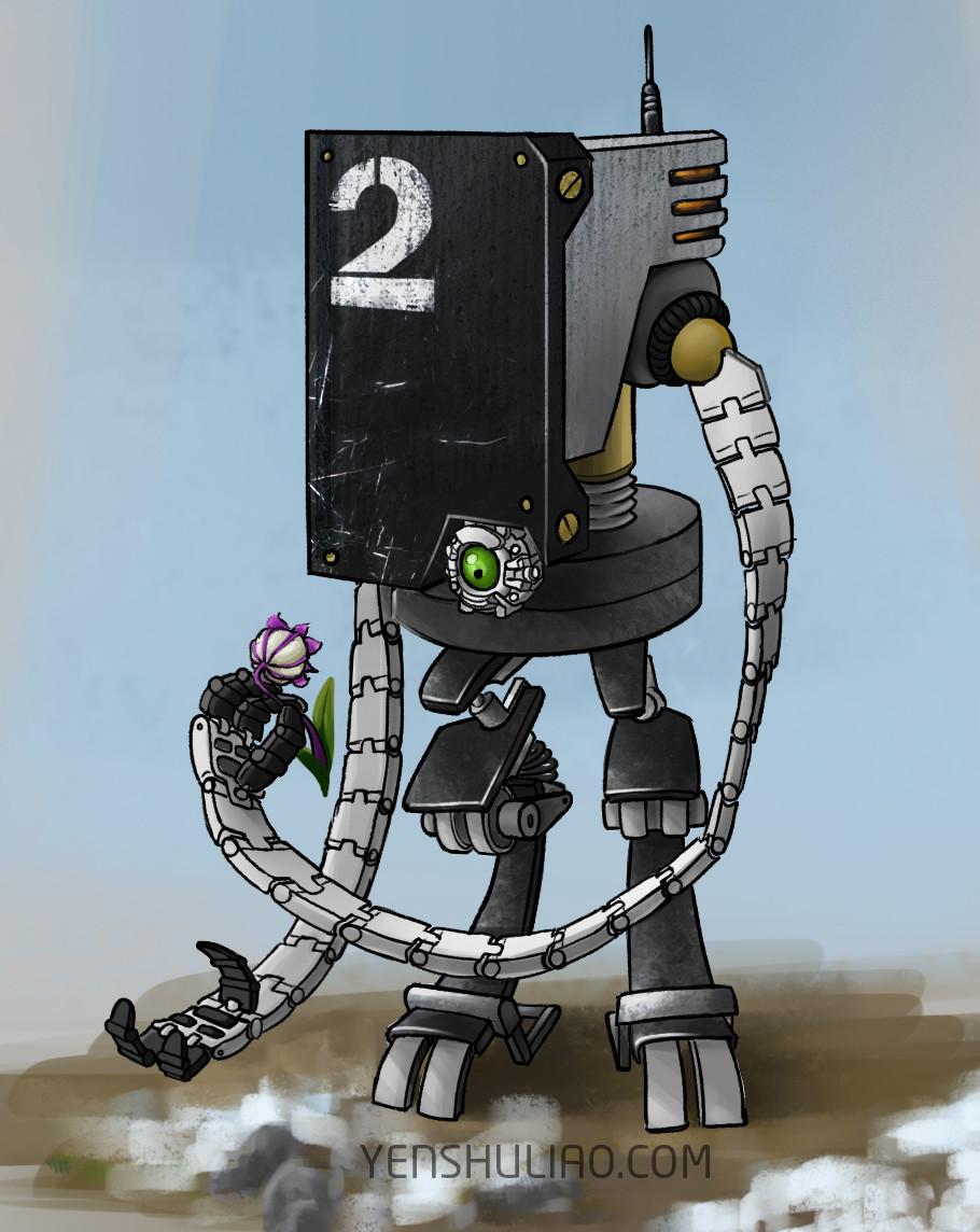 Yen shu liao mech robot concept art yenshuliao 08