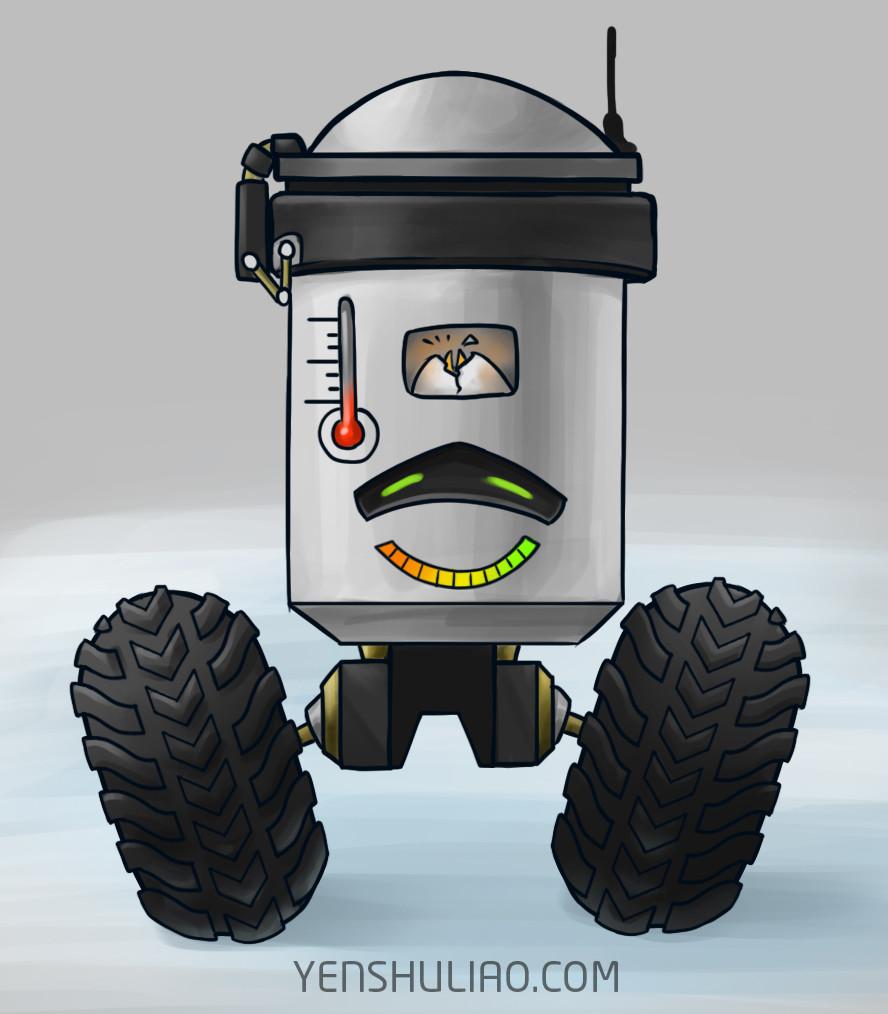 Yen shu liao mech robot concept art yenshuliao 10