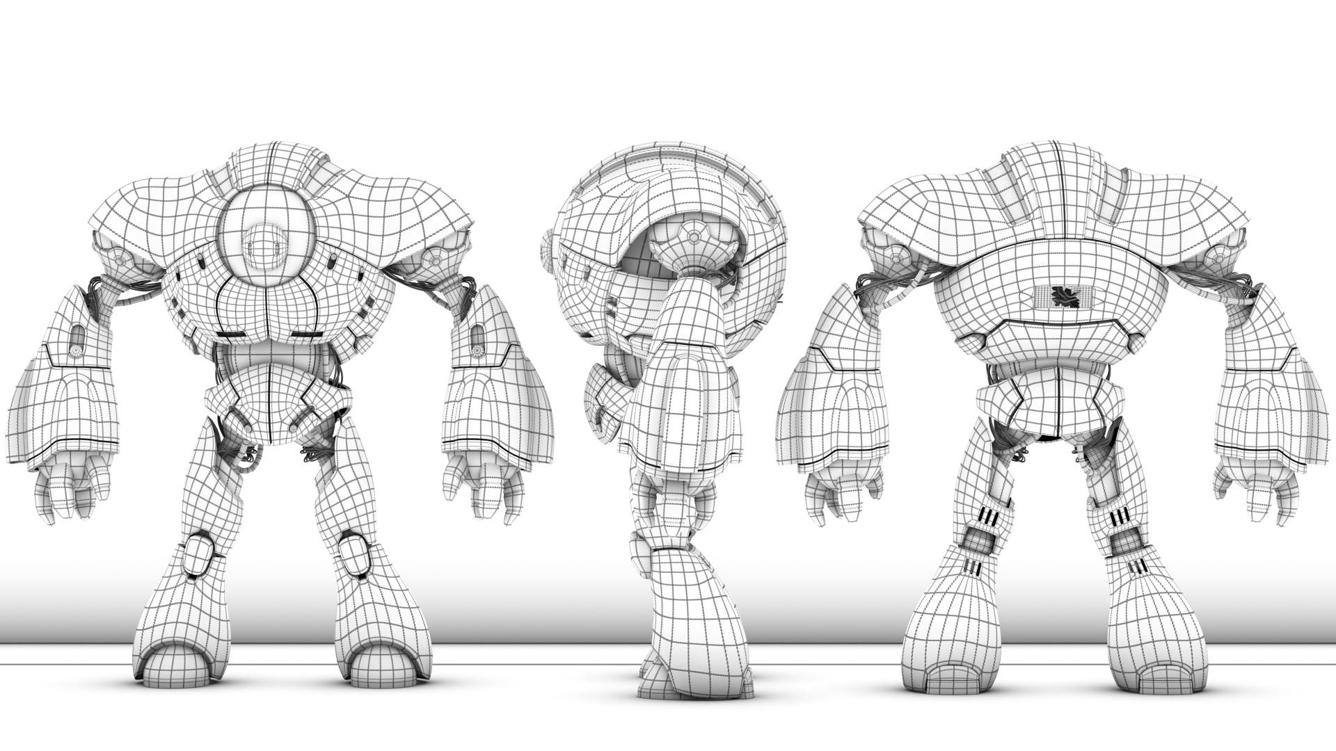 Victor hugo sousa robot texture comp 08 wire