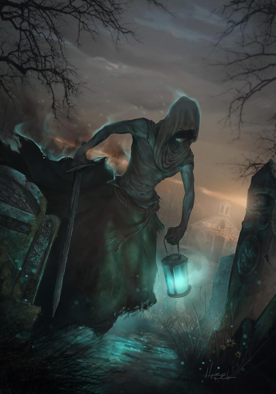 Gwent Art Contest - Wraith