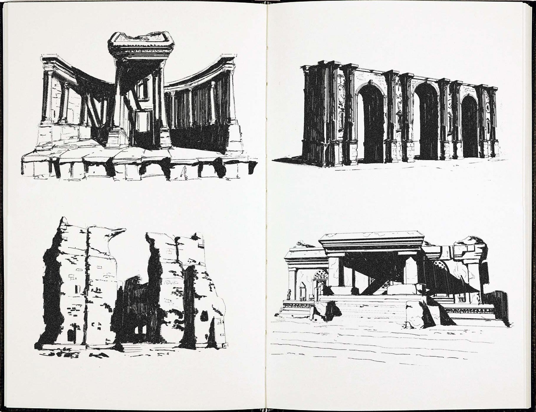 Sergio seabra 20180323 architecture sketches1