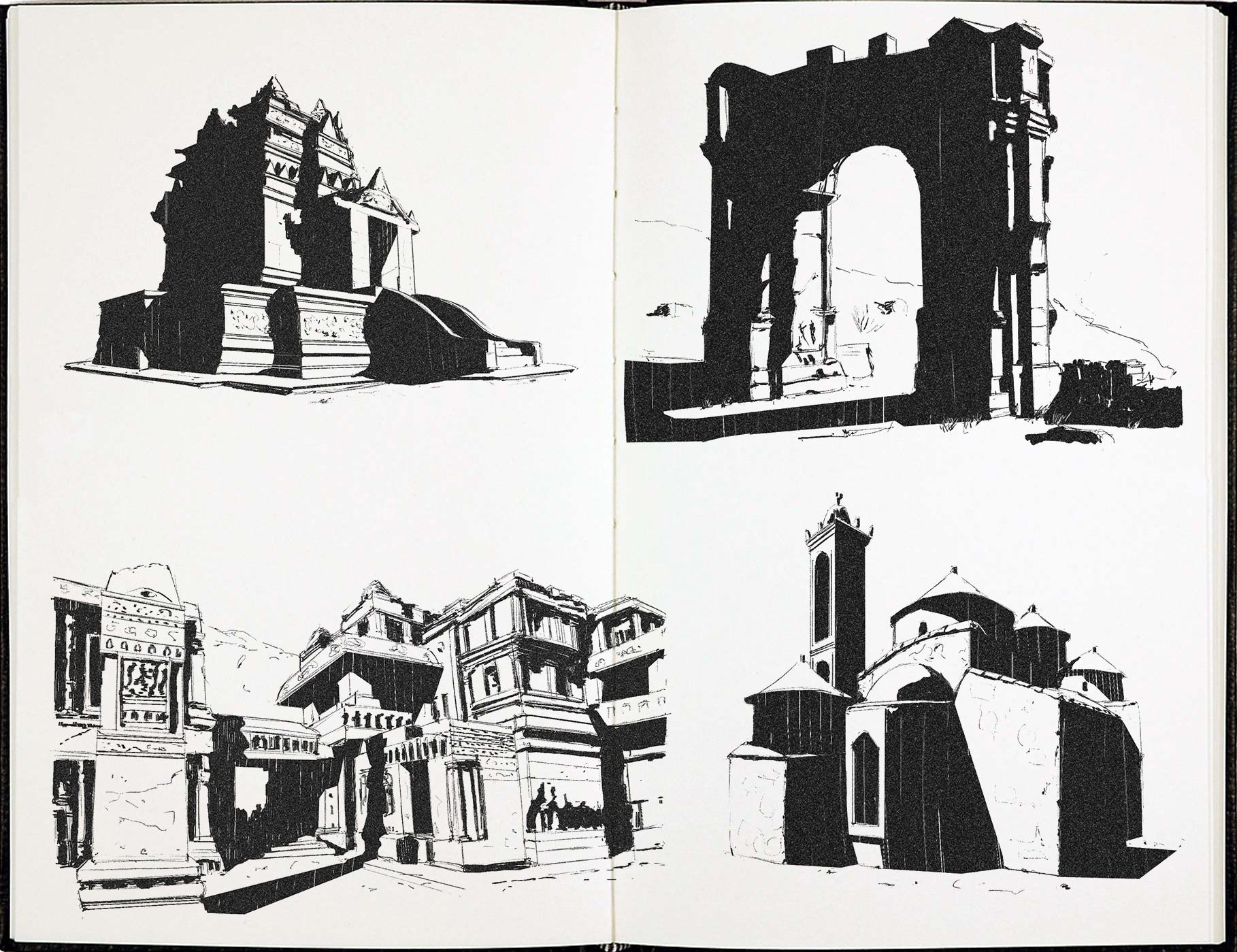 Sergio seabra 20180323 architecture sketches2