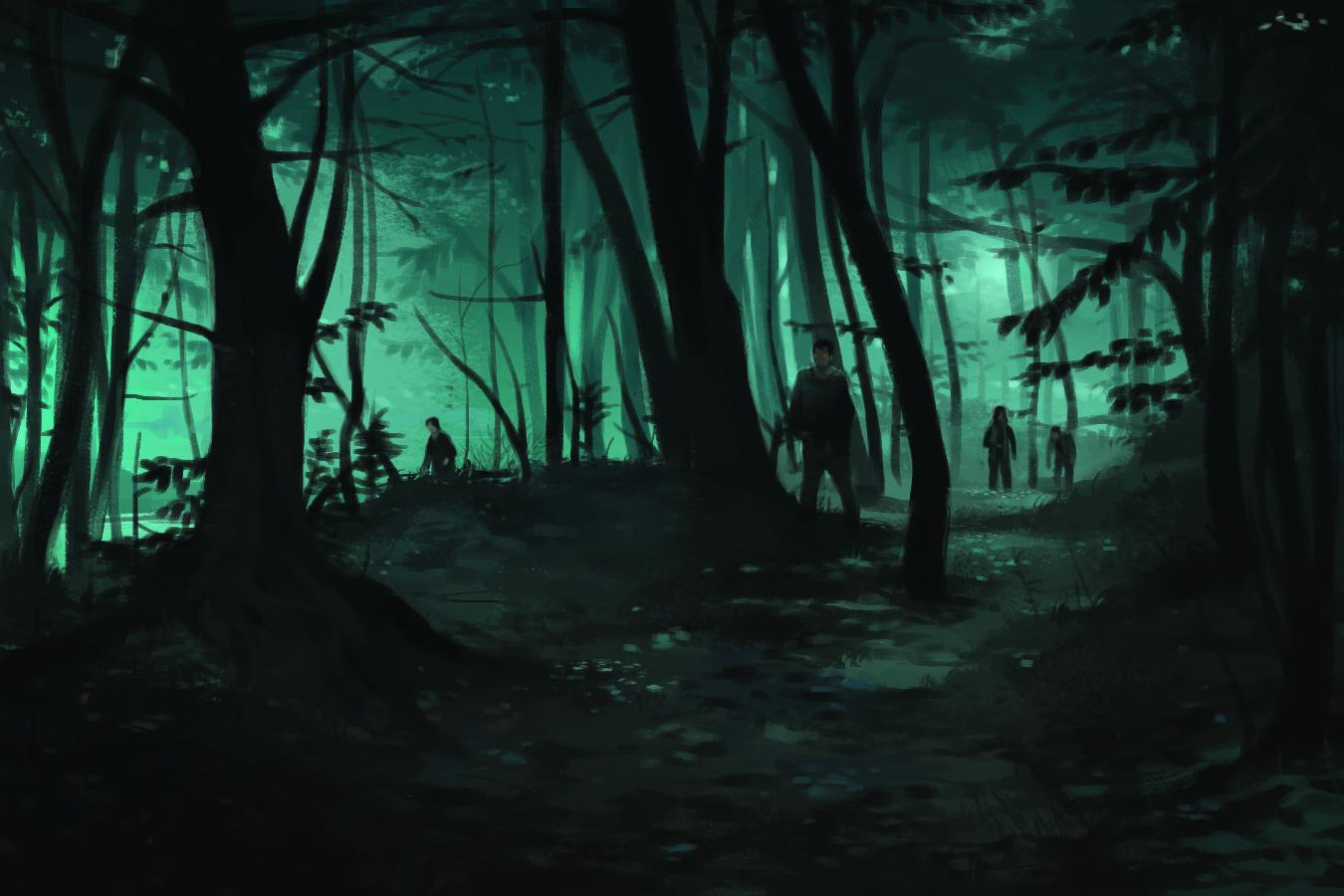 Jason rumpff jason rumpff dark woods