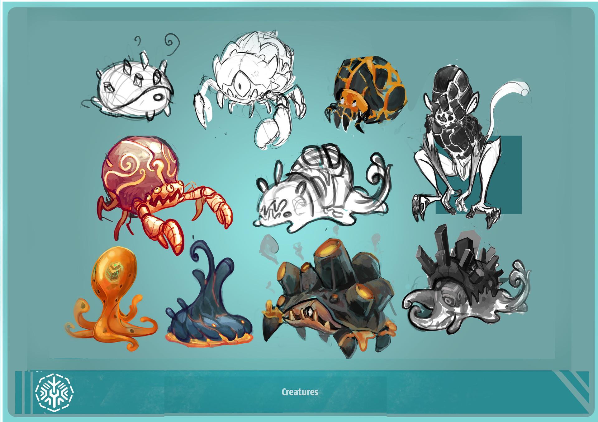 Nickie villa 26 creatures