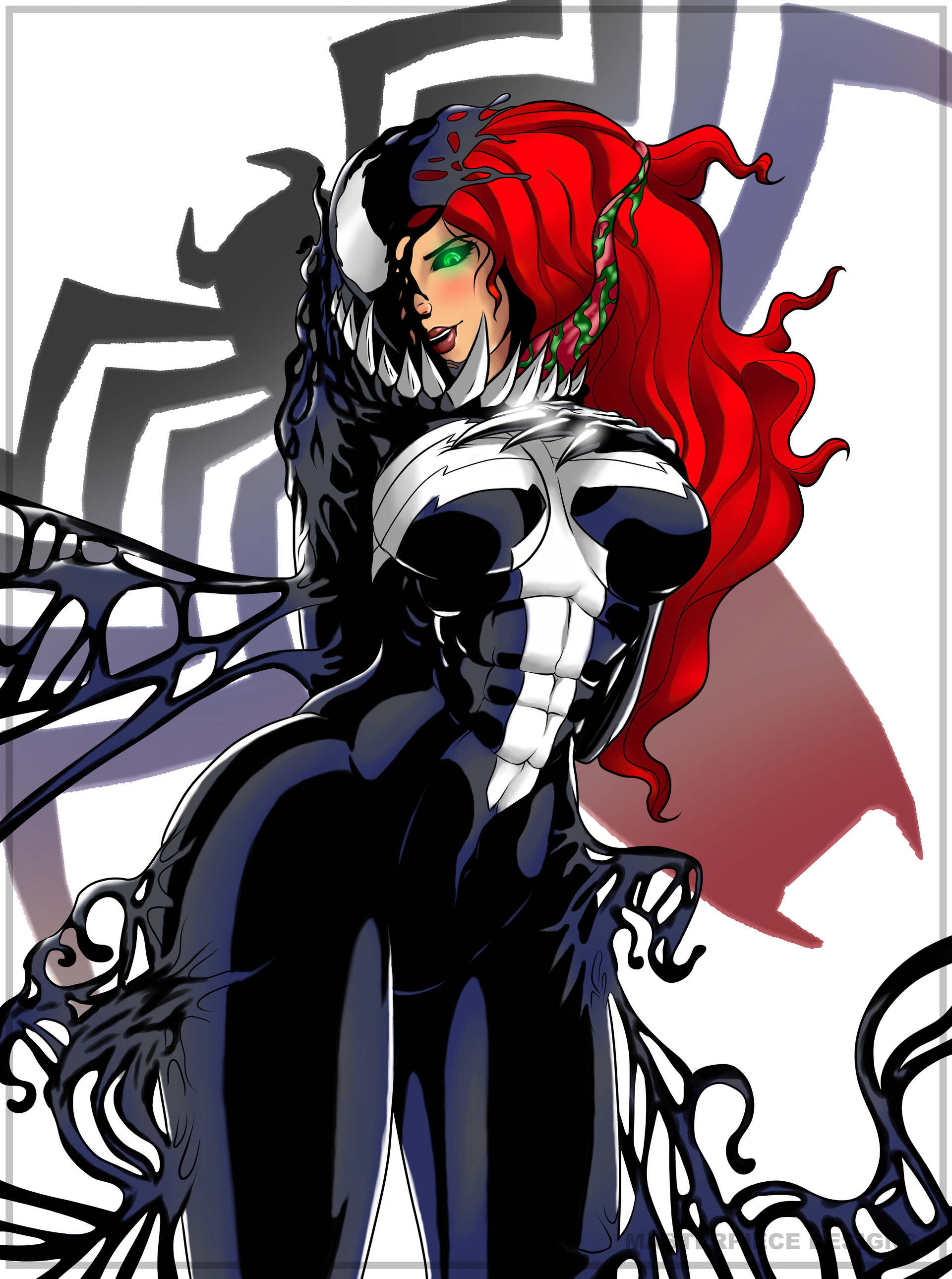 Raça - Totem Vivo Dominick-hambrick-she-venom-full-suit-black-mary-jane