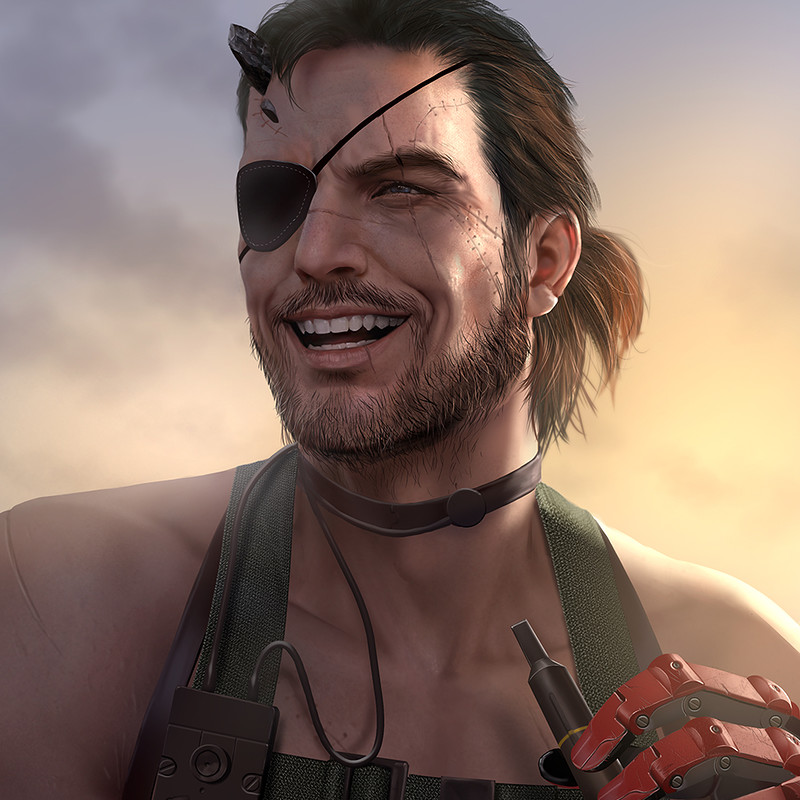 Fan Art: Venom Snake