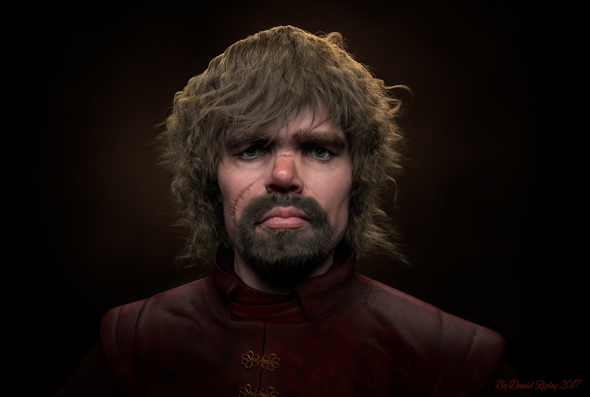 Tyrion Lannister Fan Art-Healed Scars-2018 updated