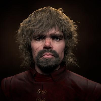 Daniel ripley artstation tyrion lannister final