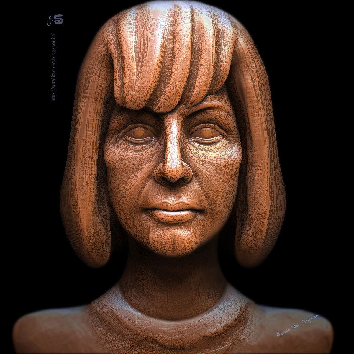 #doodle #quicksculpt My weekend speed sculpt. Played with brushes..:) Wish to share...