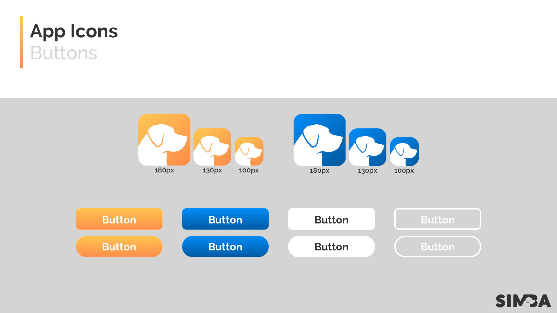Brian borowiec app icons buttons