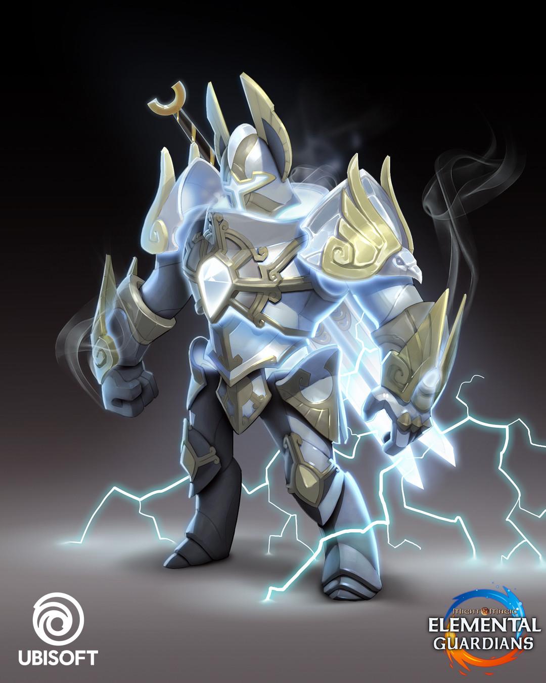 Elemental Knight Concept Art