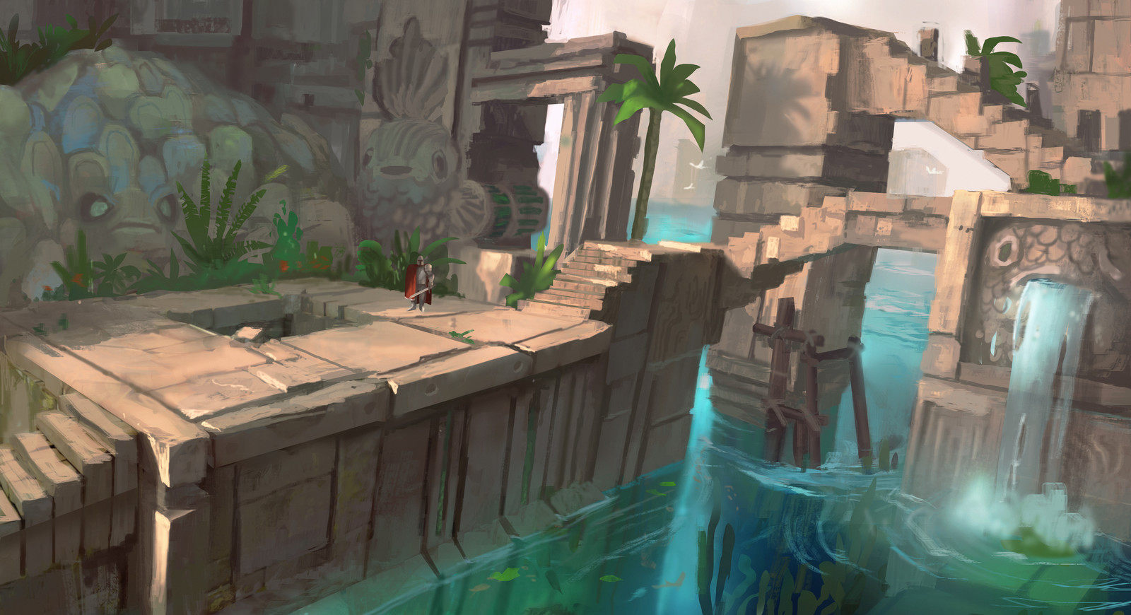 Water Temple II - Adventure RPG Game