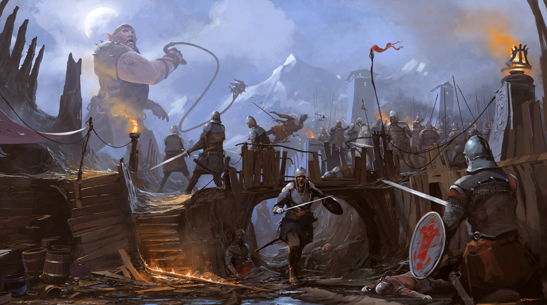 Alejandro burdisio orcosos bardo medieval