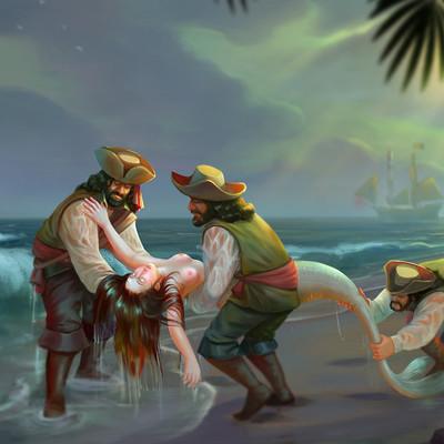 Suresh pydikondala mermaid rescue