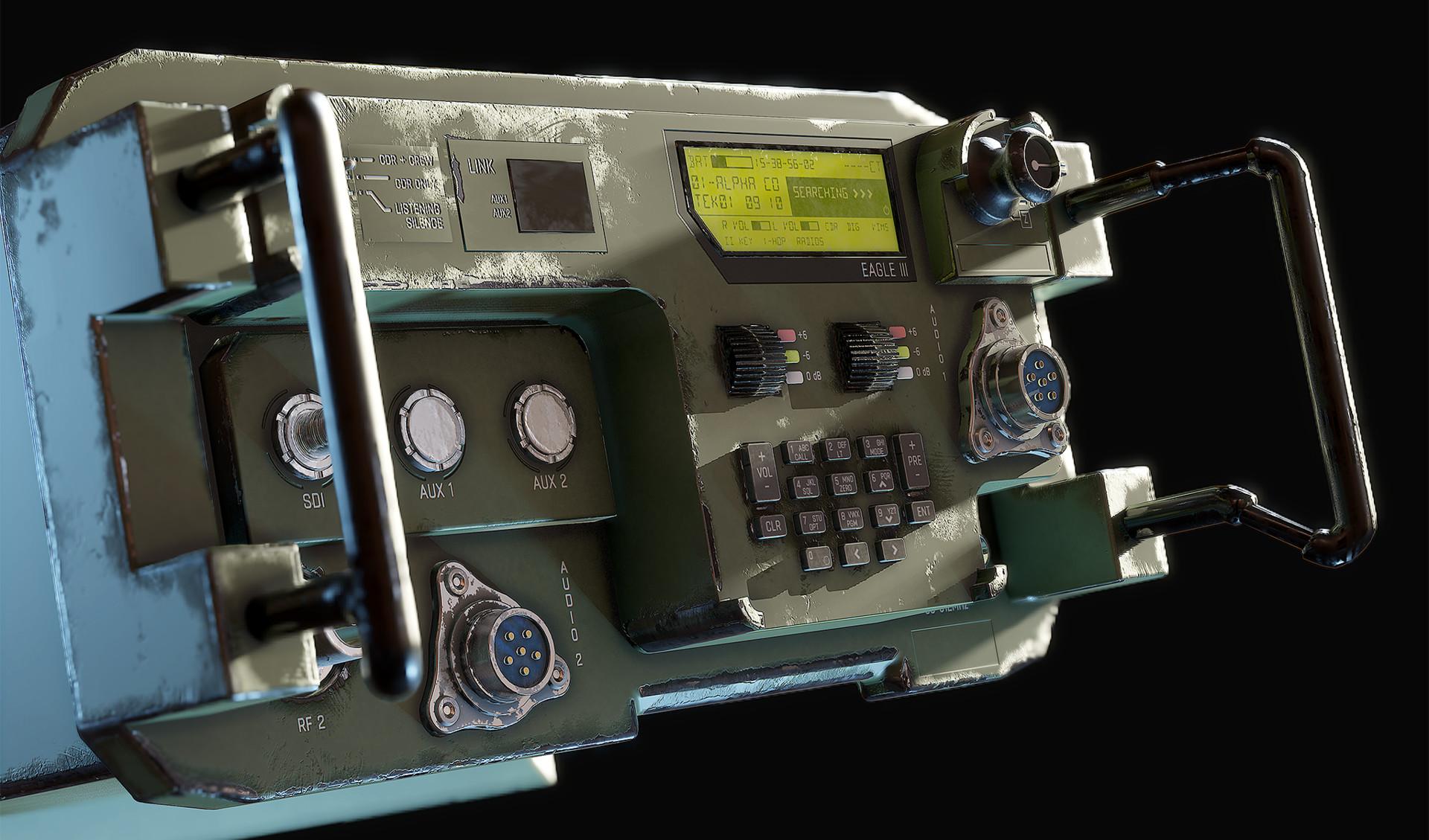 Hannu koivuranta militaryradio detail 1