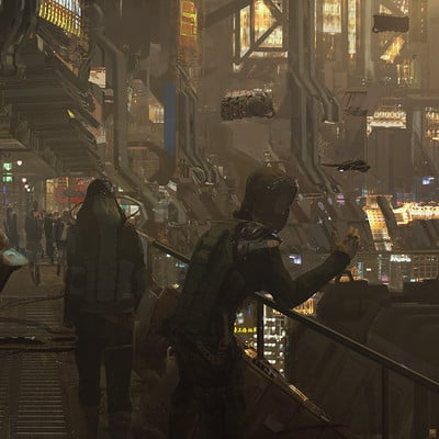 Wadim kashin yellow city 1