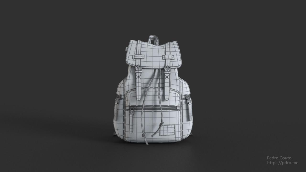 Backpack Wireframe