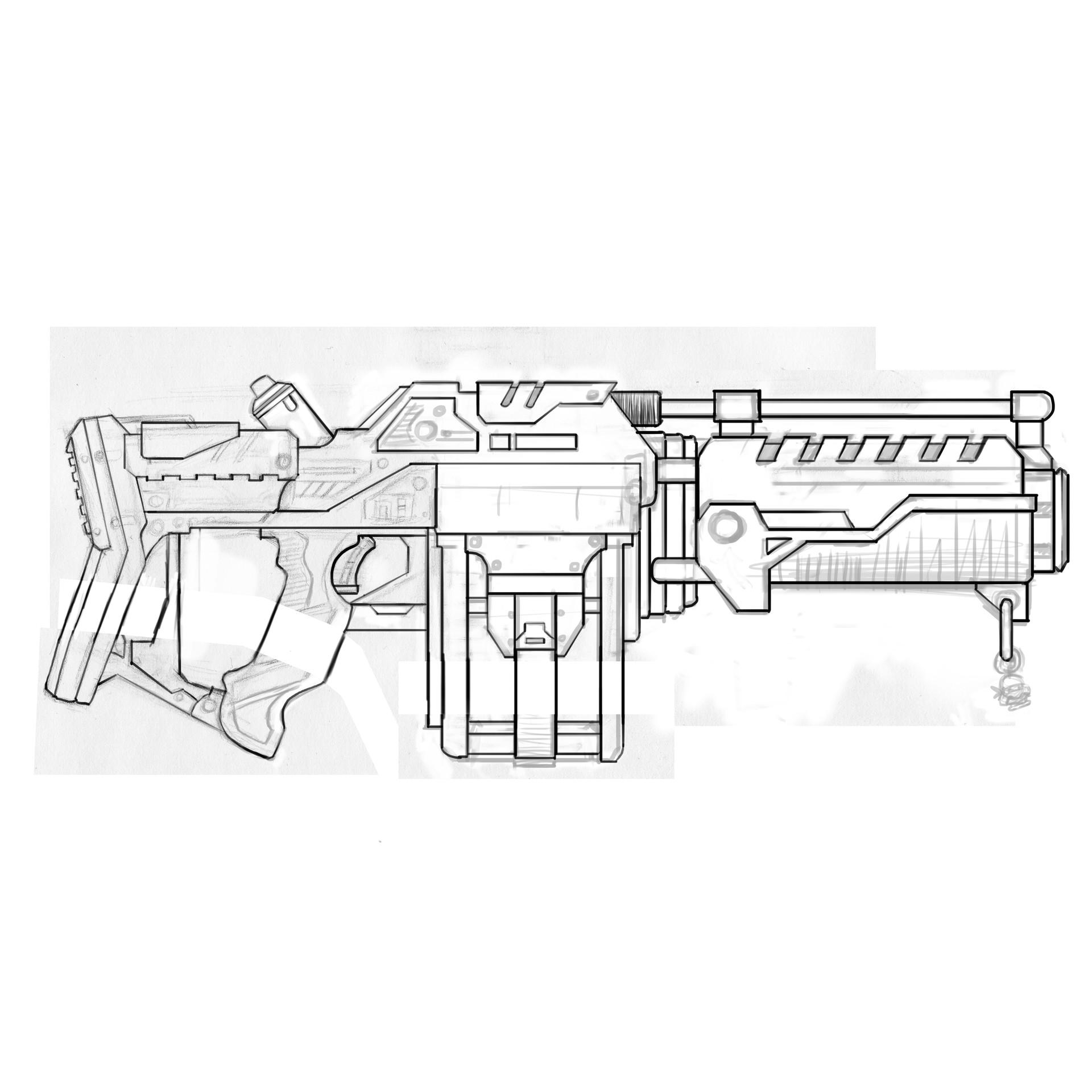 Damon woods beebop gun