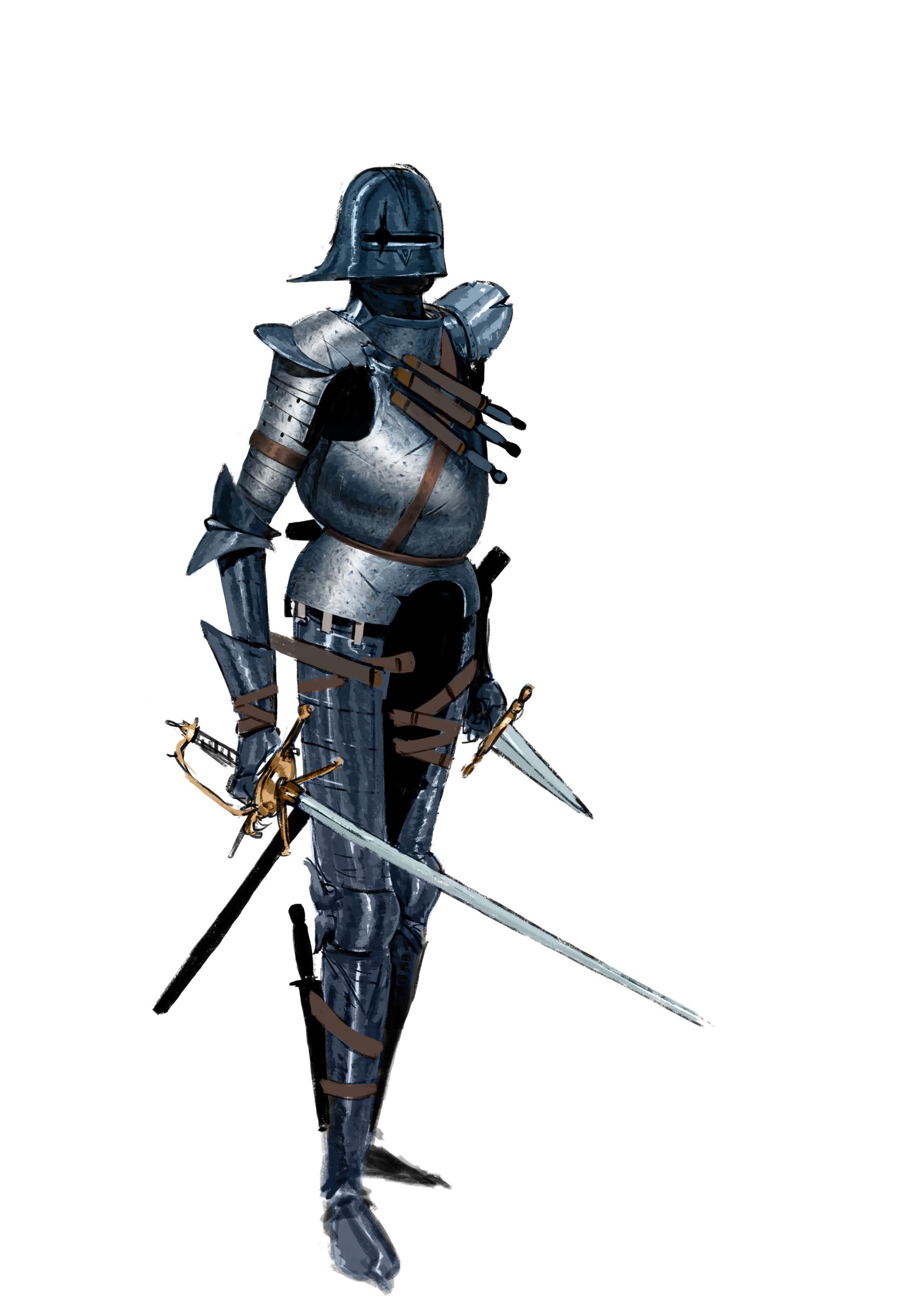 Erlend capodanno assault knight wip