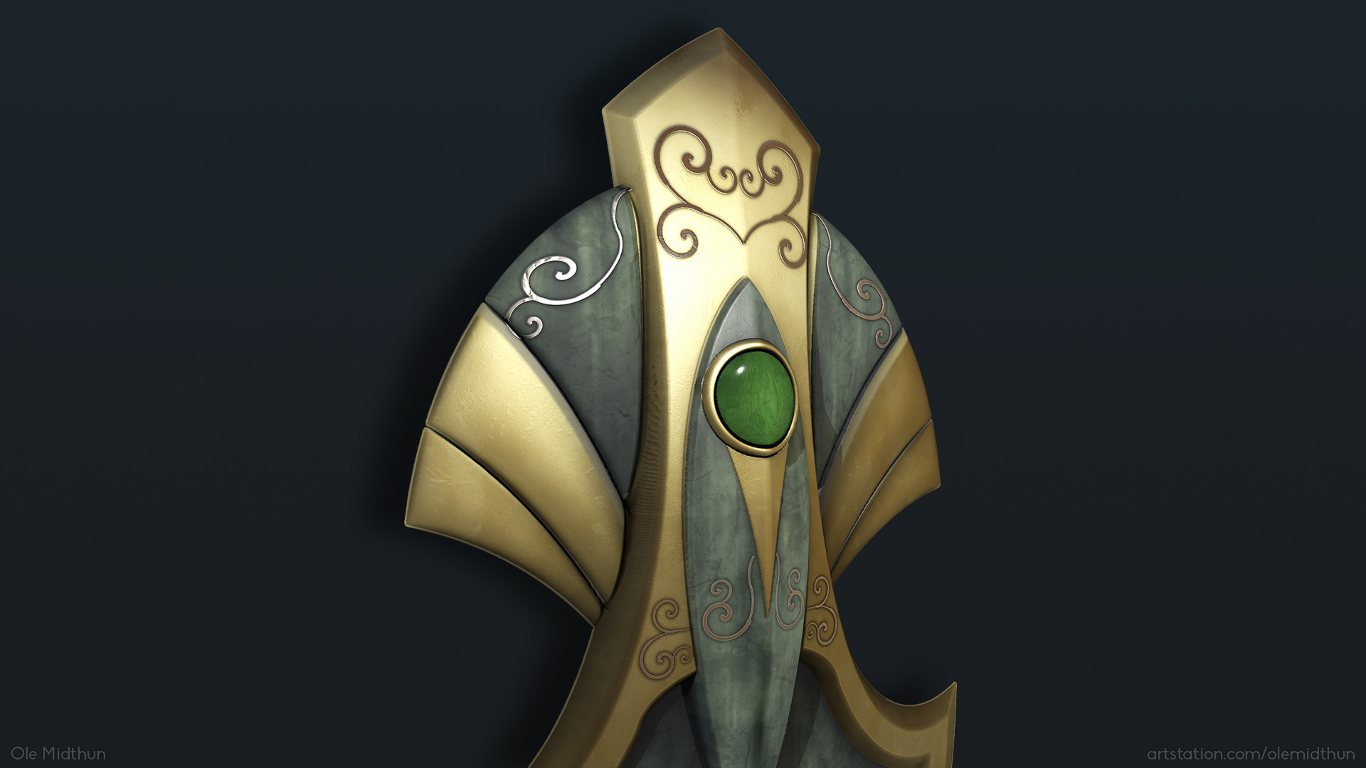 Ole midthun elven shield 3
