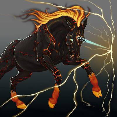 Meagen ruttan fire unicorn meagenruttan 2016 16