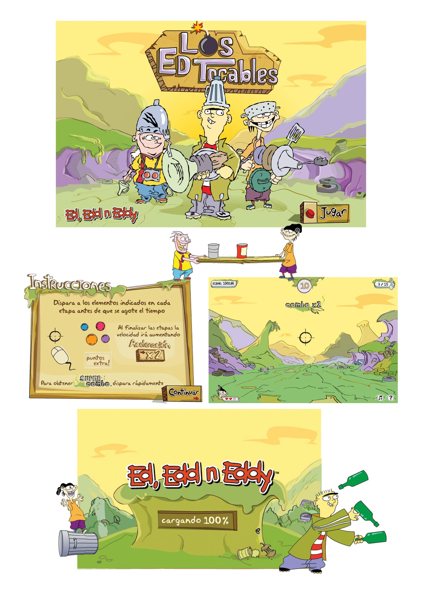 Artstation Ed Edd Y Eddy Game Maria Zambianchi