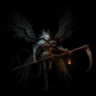 Quentin castel demon painting finalreg