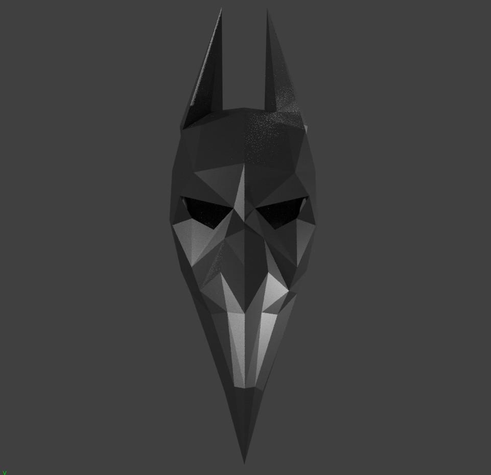Oz Mask front render BLACK