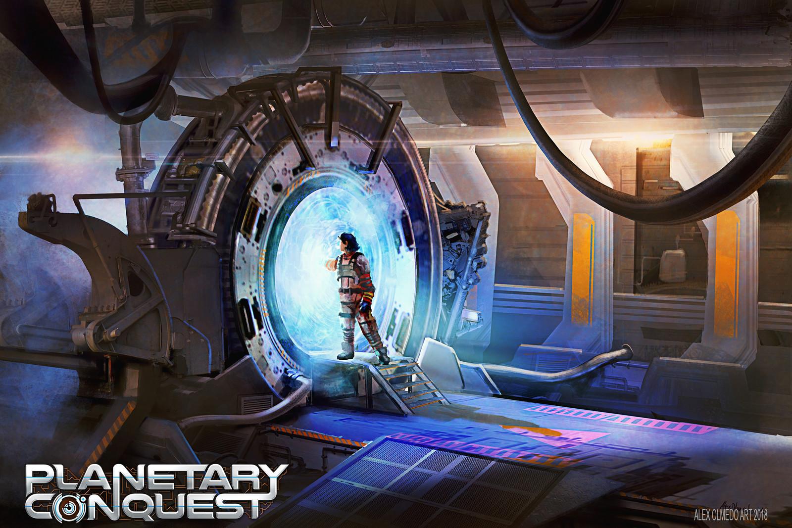 Planetary Conquest Card- Scifi Portal