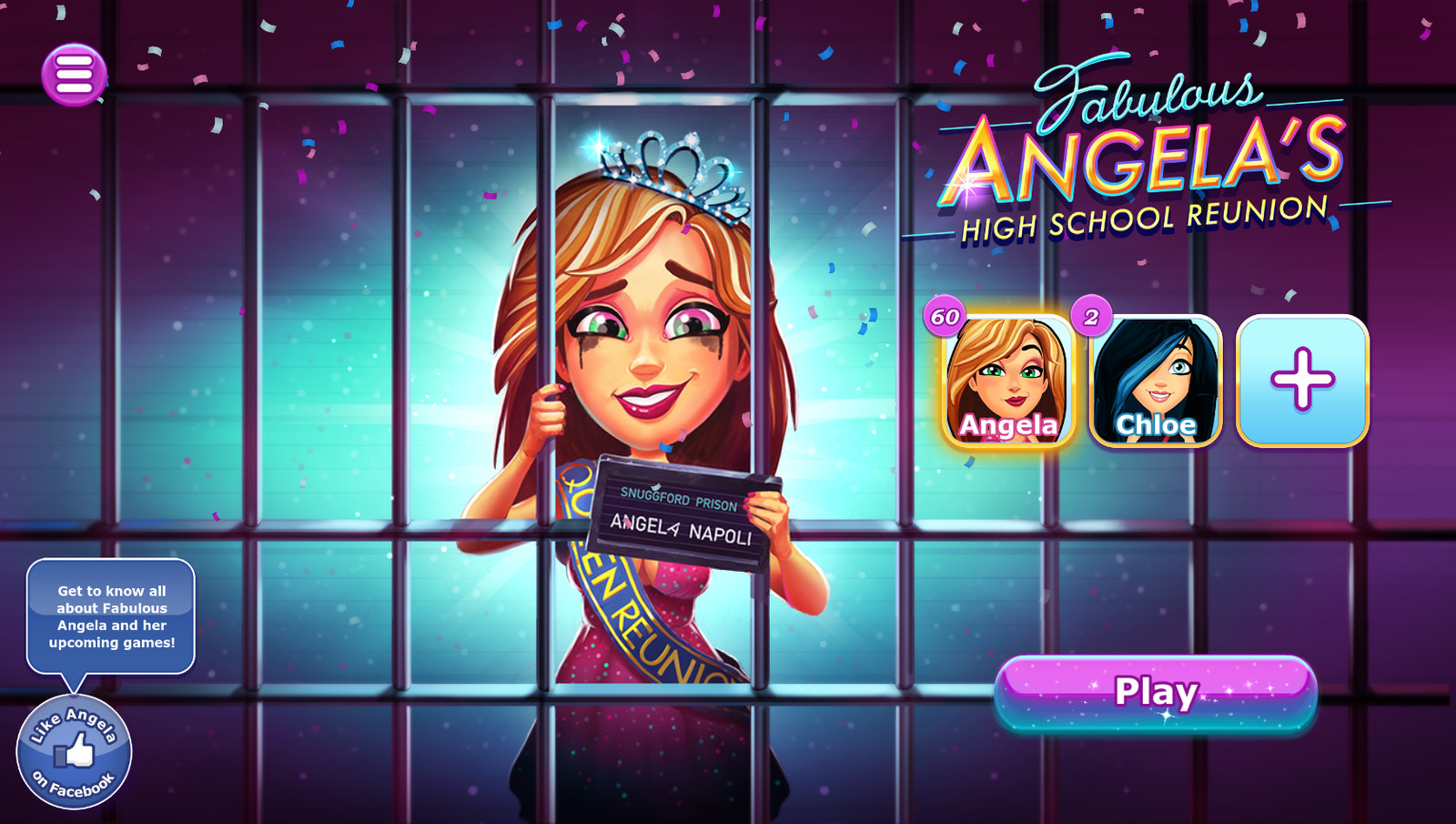 Fabulous Angela's High School Reunion (c) 2018 GameHouse B.V.