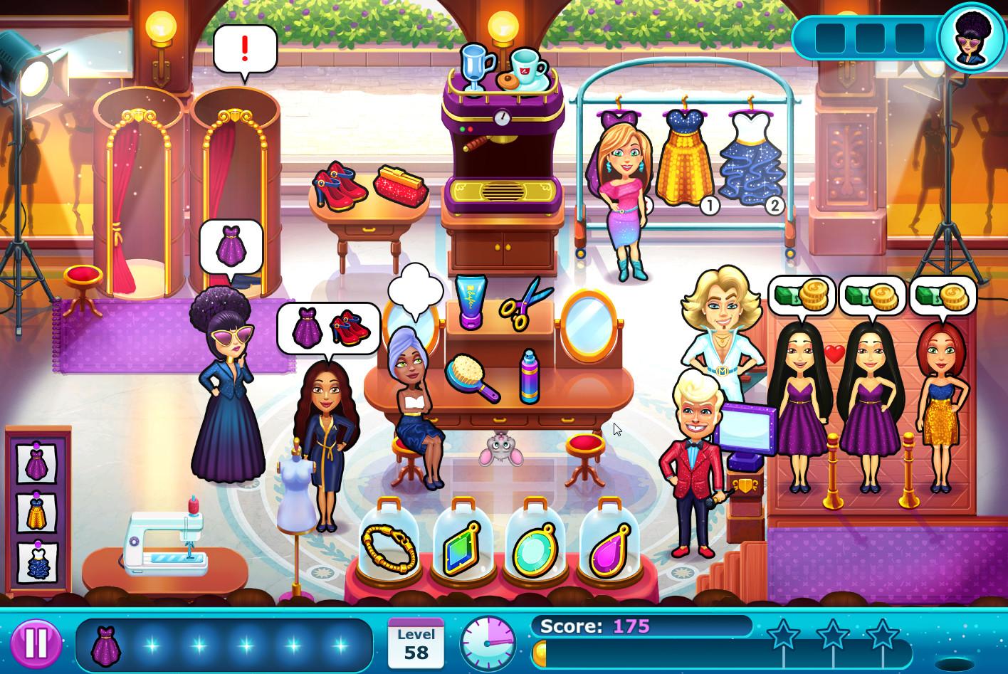 Fabulous Angela's Fashion Fever (c) 2018 GameHouse B.V.