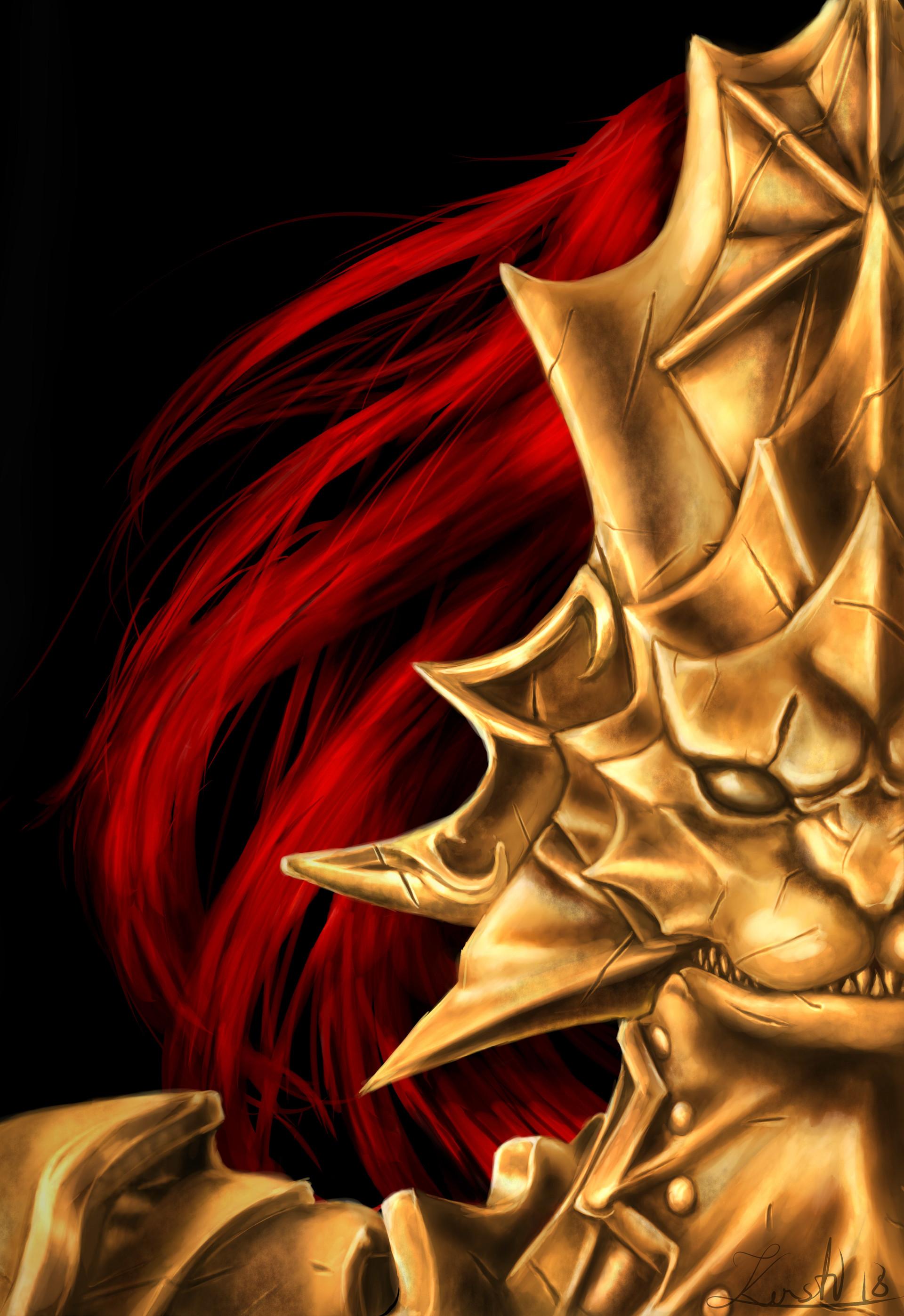 ArtStation - Dark Souls - Ornstein (fan art), Kersti Mölder