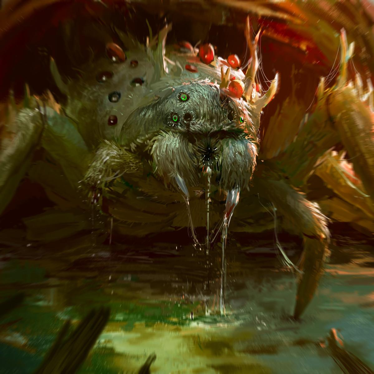 Devin platts spider zombie final