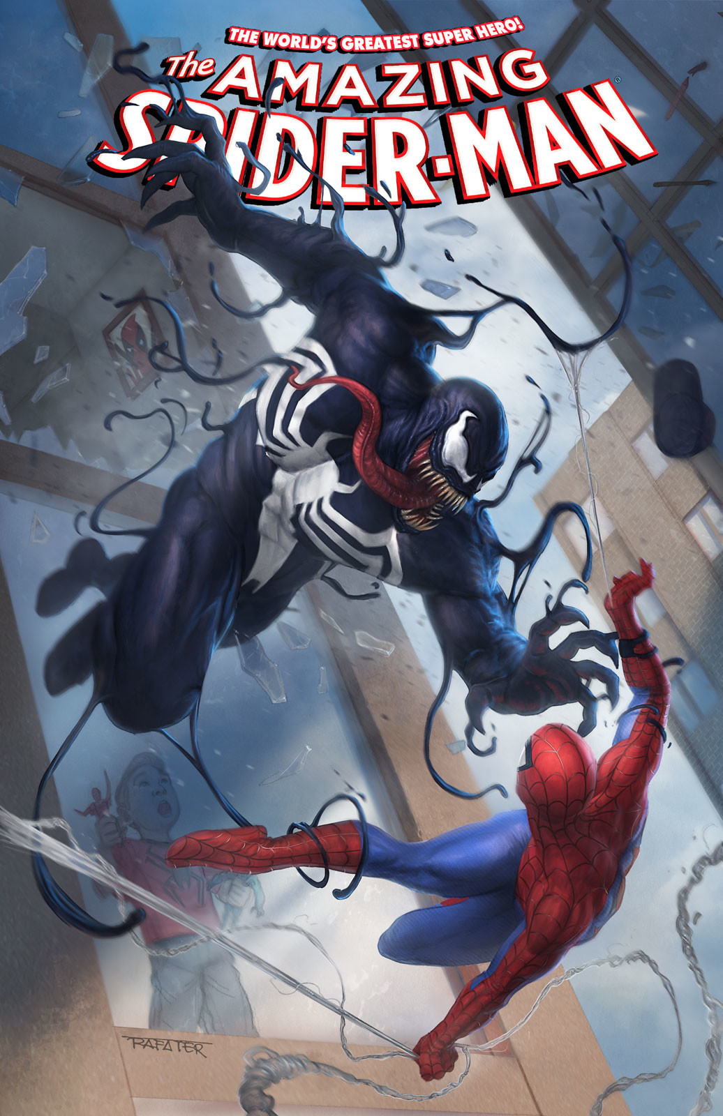 Venom vs Spiderman Cover