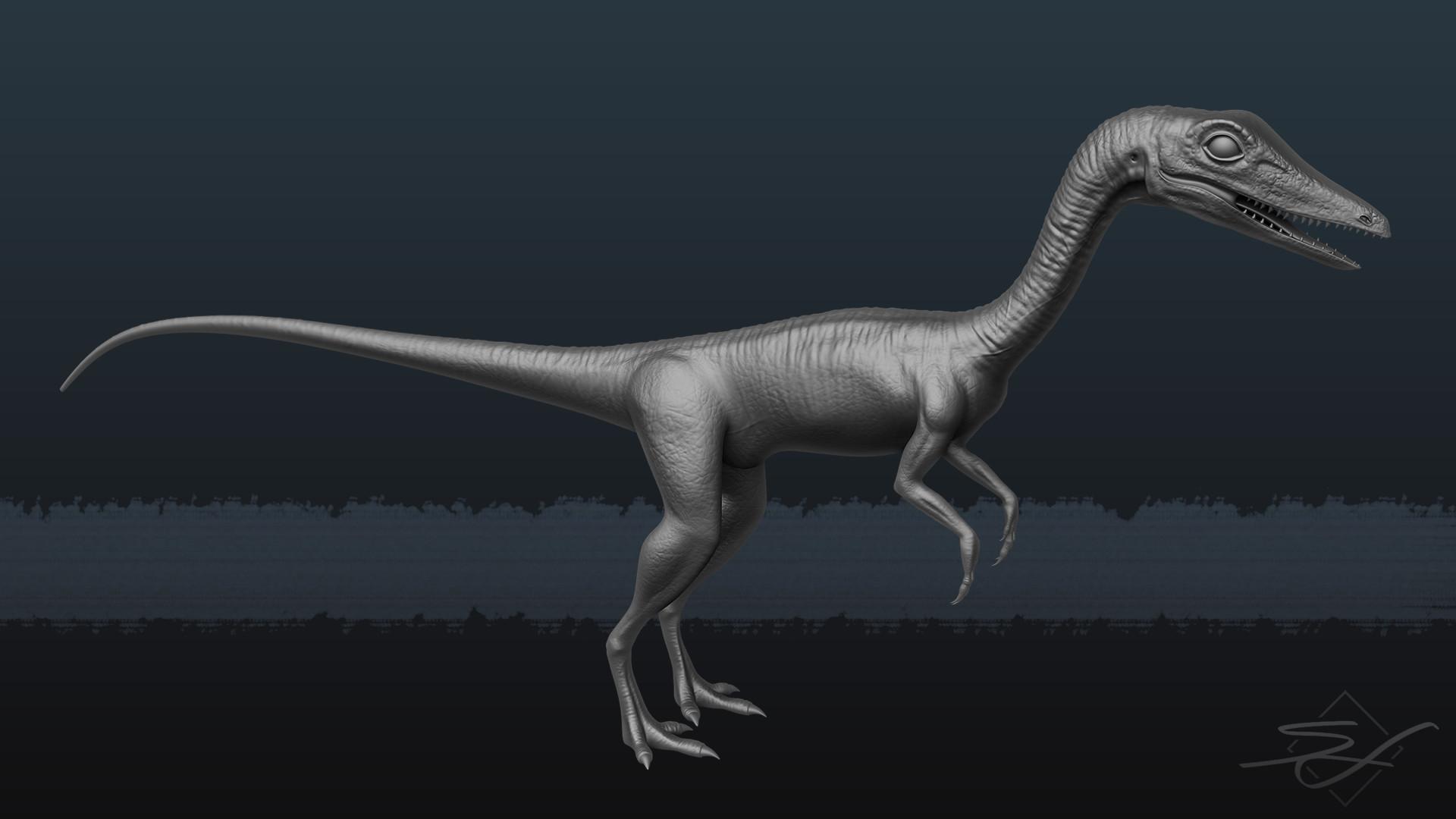Sebastian irmer compsognathus render 01