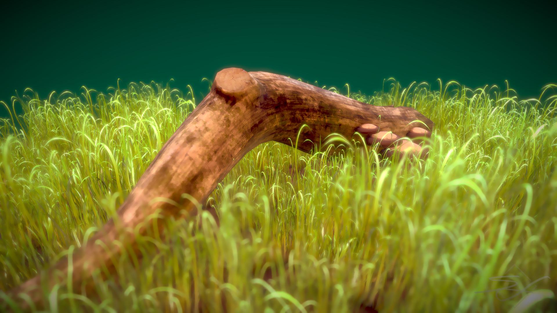 Sebastian irmer compsognathus render 04