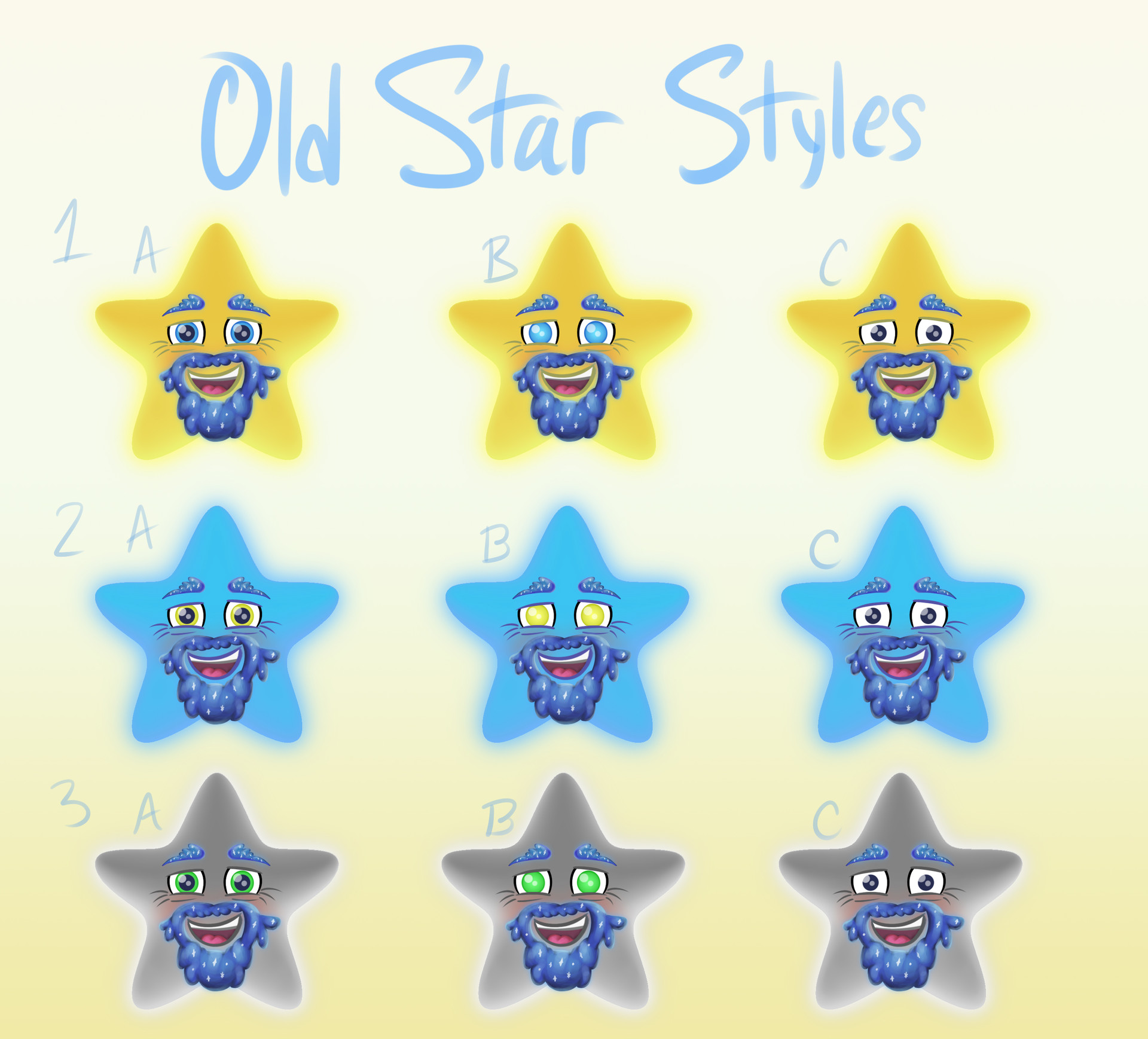 Early concepts for Old Star