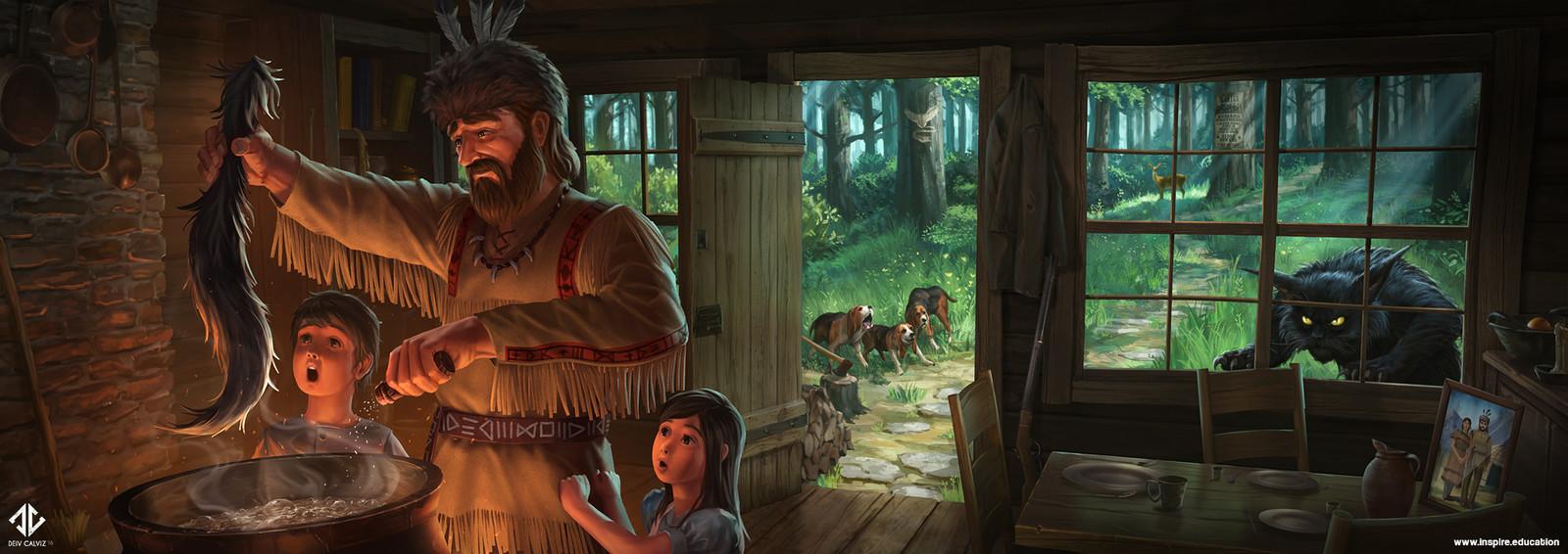 Tailypo - Cabin Scene