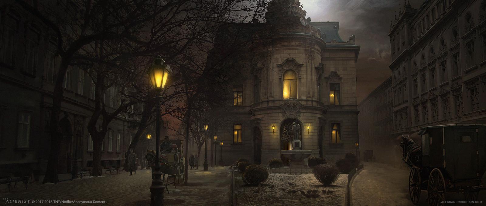 The Alienist - Delmonico's Exterior