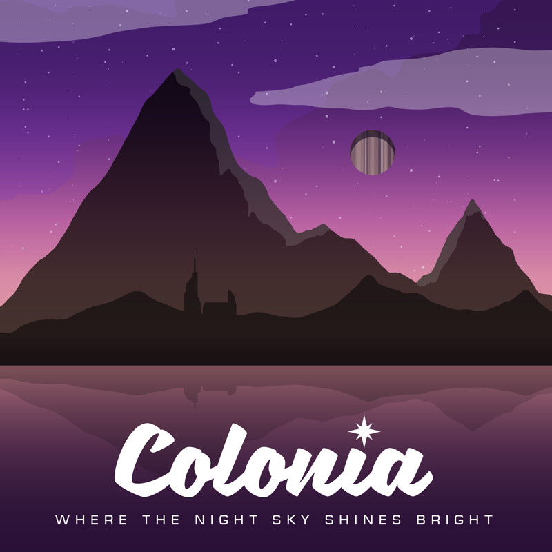 Elite Dangerous - Colonia Tourism Poster