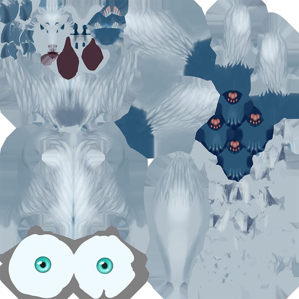 Eiko's texture map.