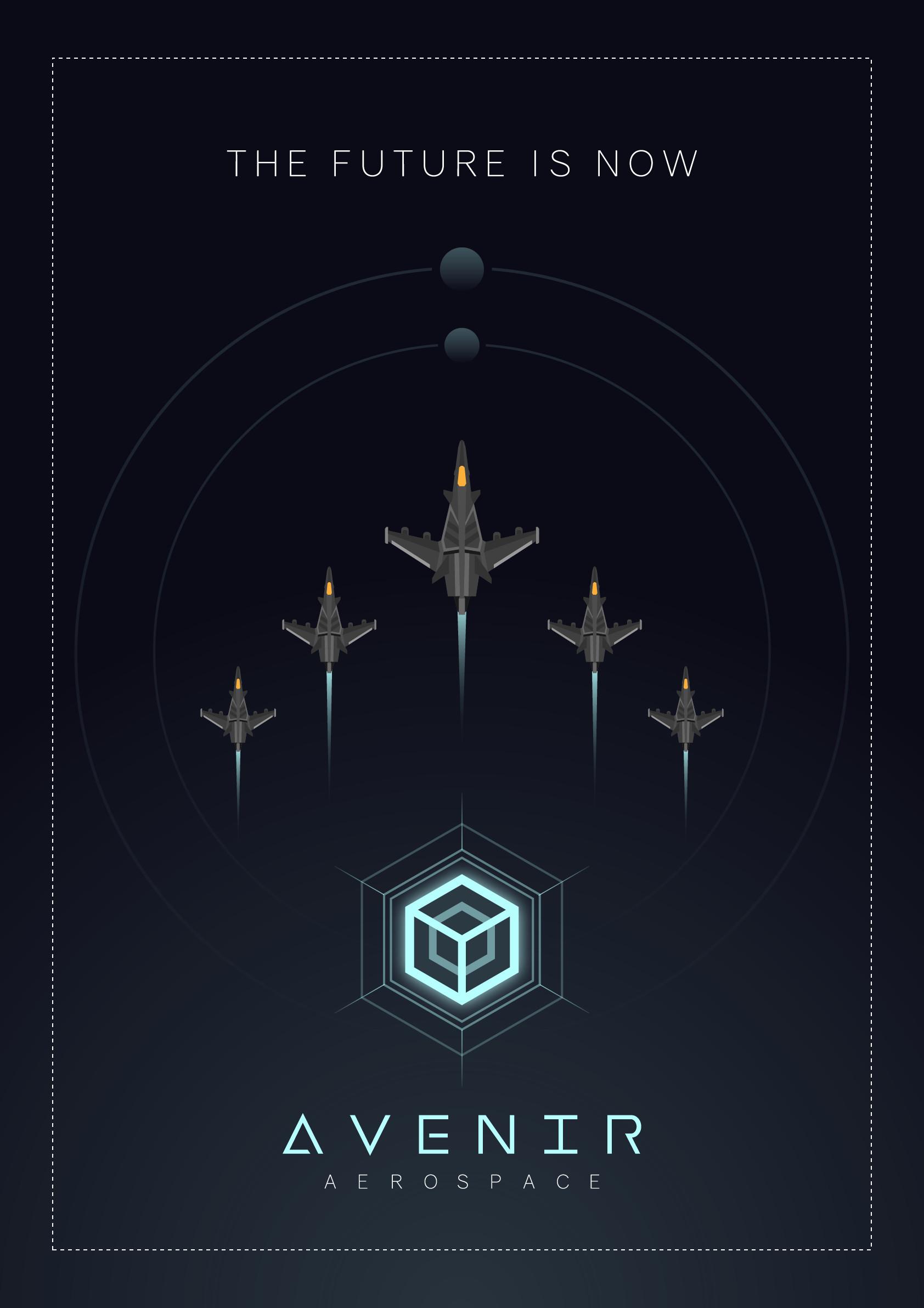 Avenir Aerospace poster