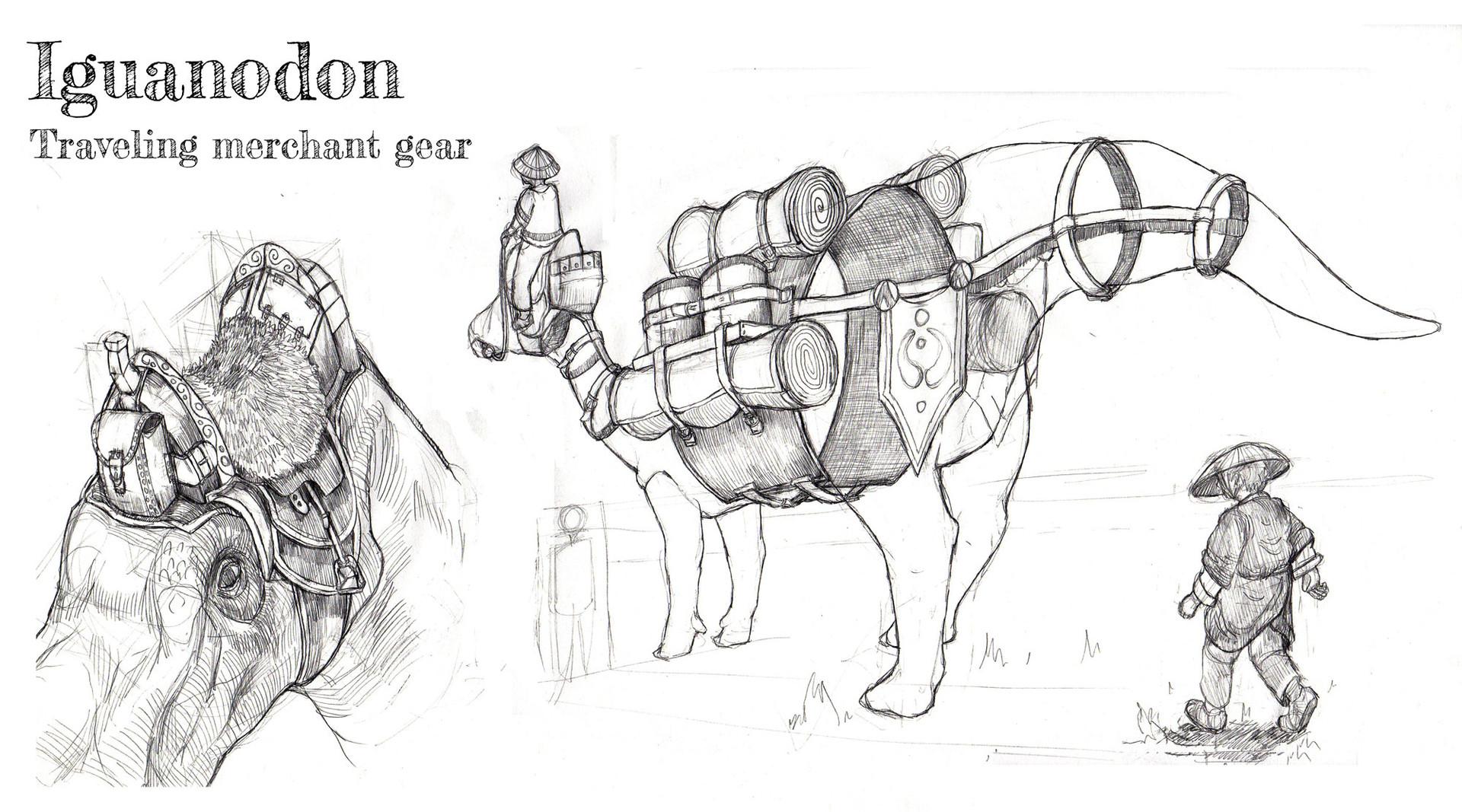 Tom mackintosh copy of iguanodon